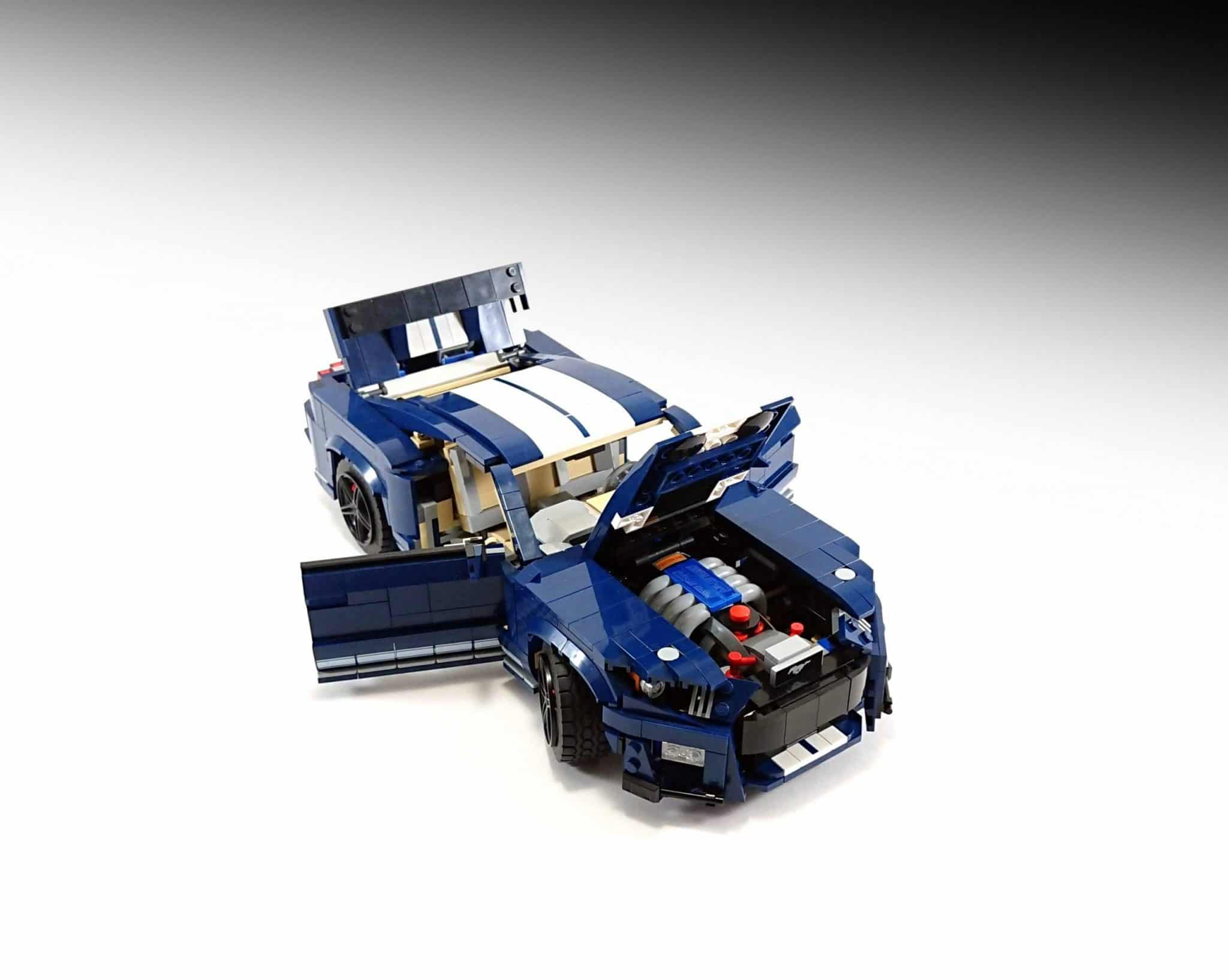 lego instructions ford mustang