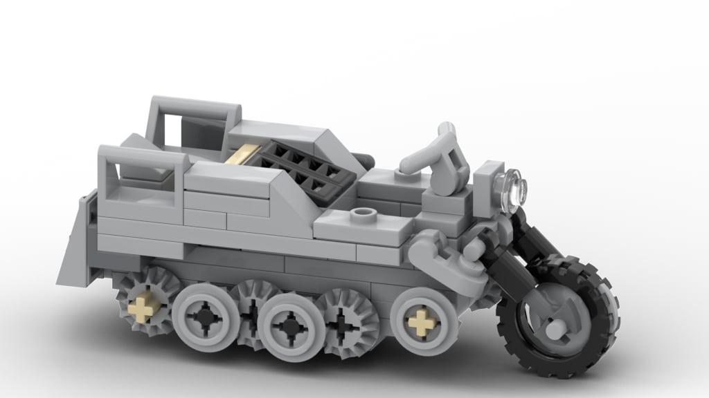 lego moc military