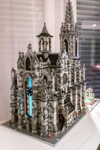 Lego Custom Instructions Modular Cathedral Lego Instructions Mocsmarket