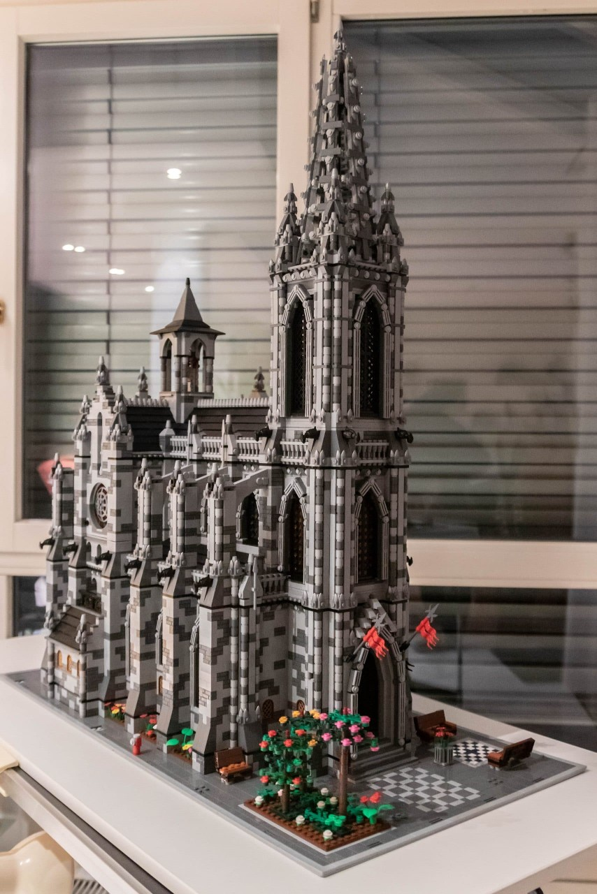 costum LEGO building Instructions PDF files only! MOC Church// Cathedral