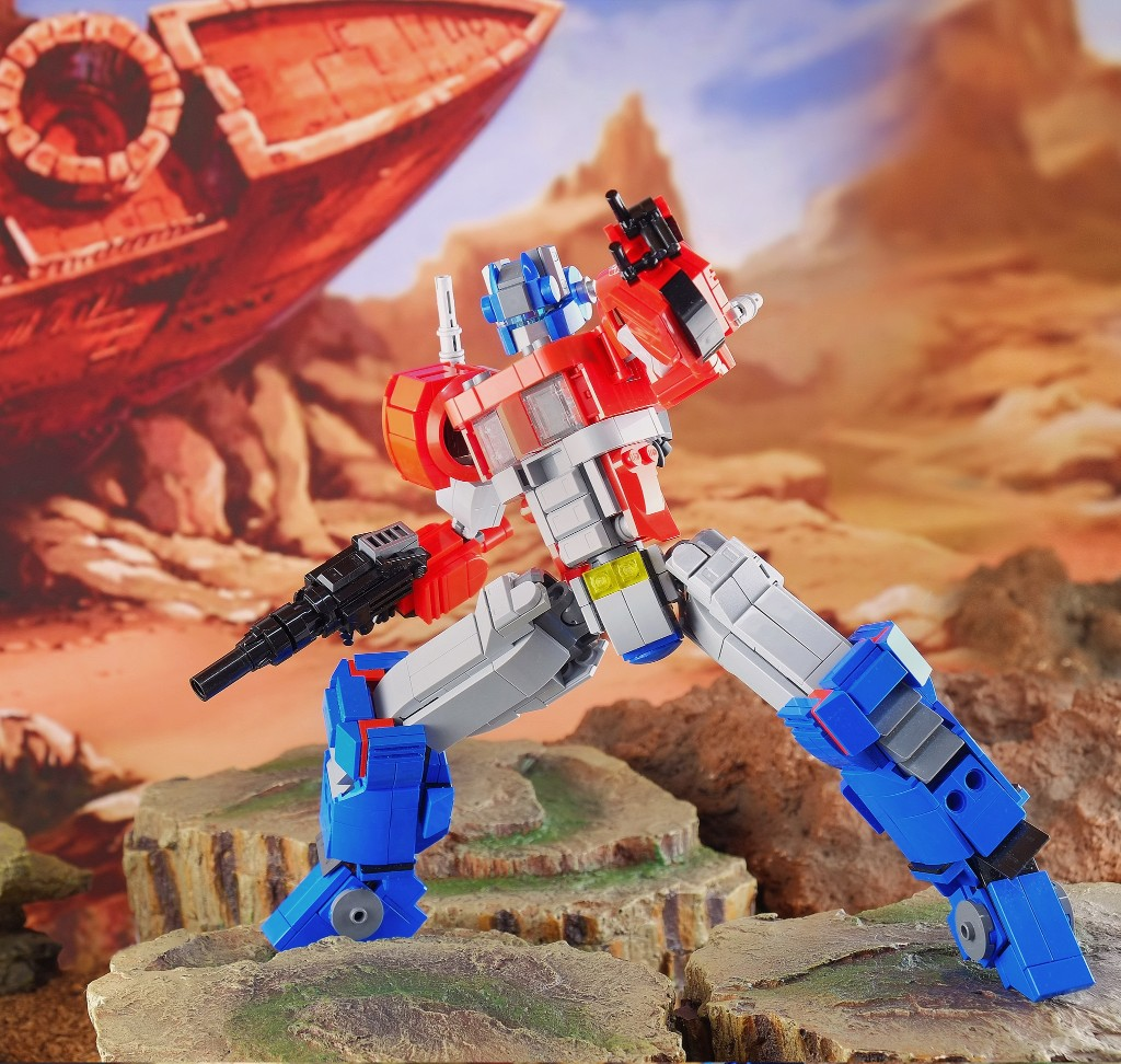 Instructions and Parts List Only Custom LEGO Transformers Optimus Prime