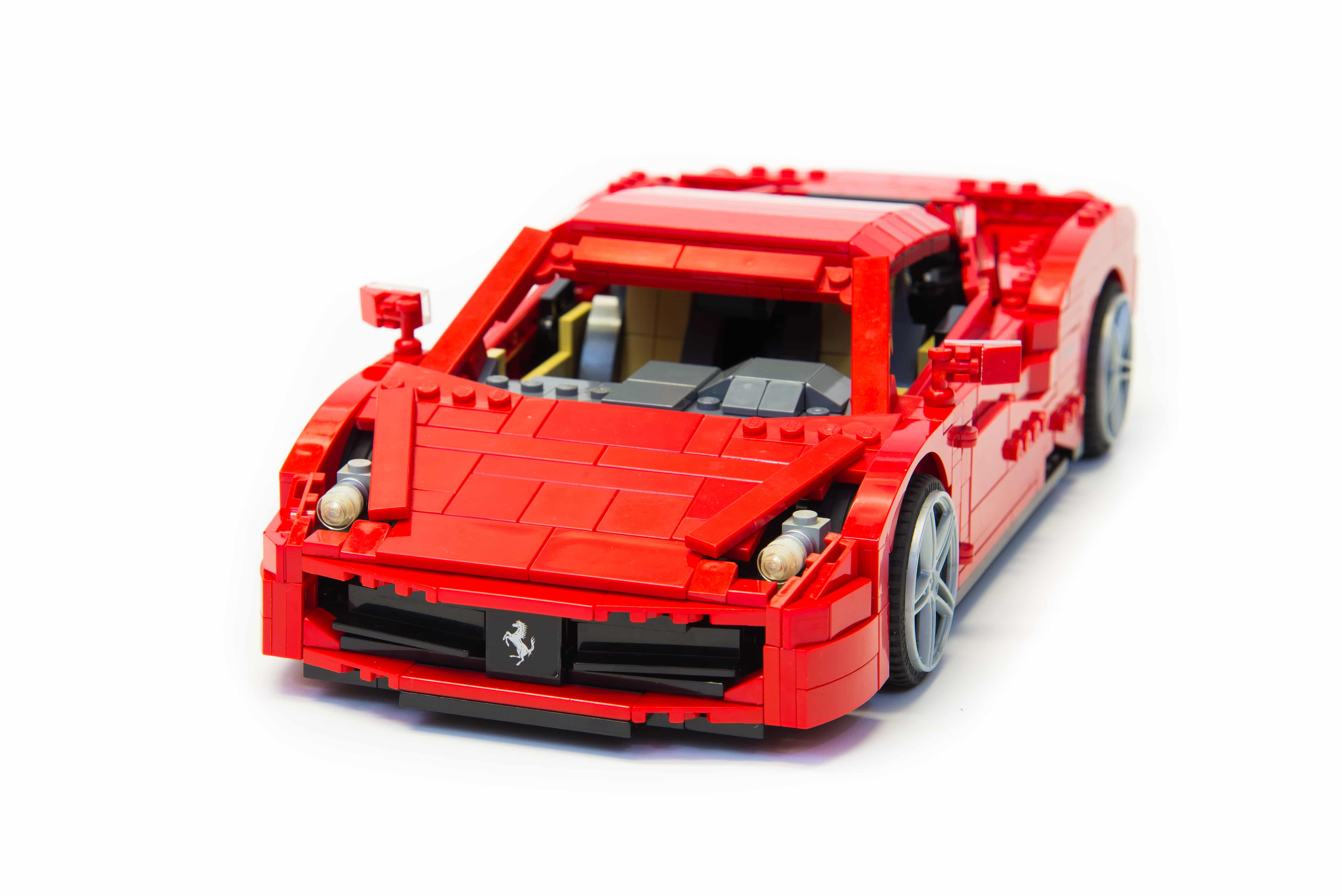 Lego Instructions Ferrari 458 Italia Lego Instructions Mocsmarket