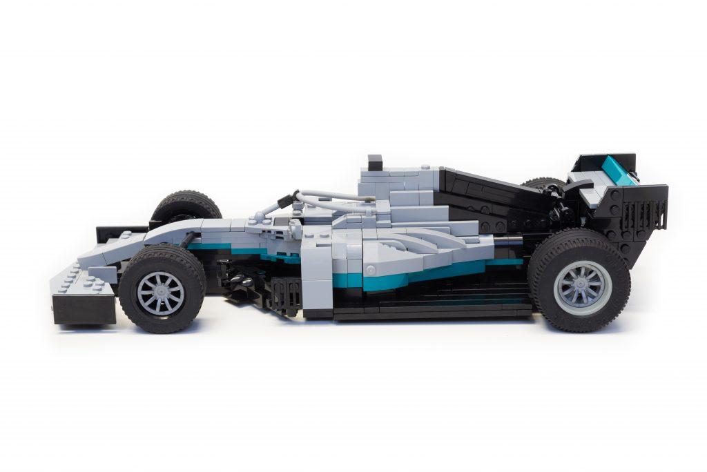LEGO Mercedes-AMG W10 Formula 1 F1 Race Car CUSTOM INSTRUCTIONS ONLY