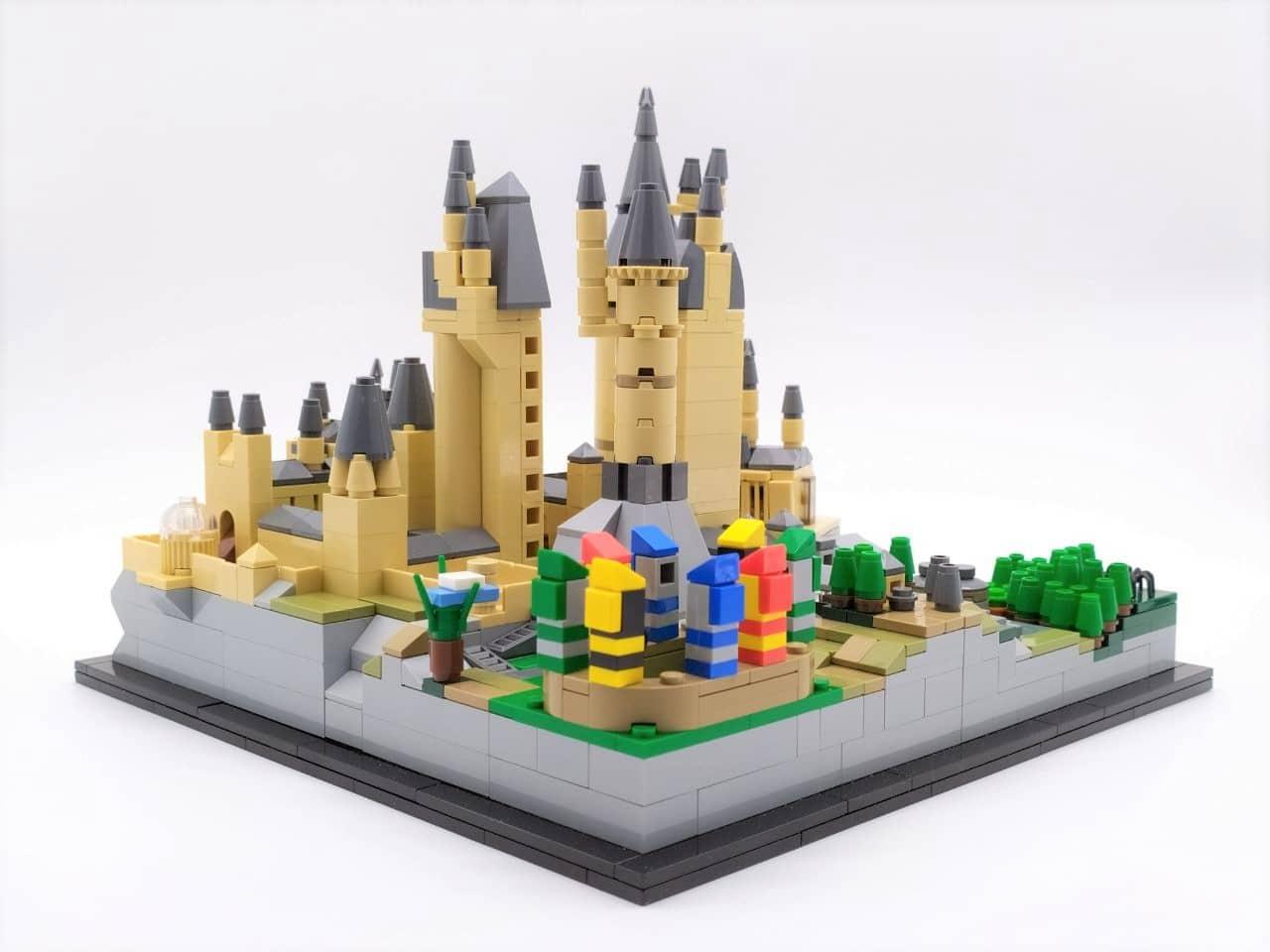 lego moc Hogwarts caslte