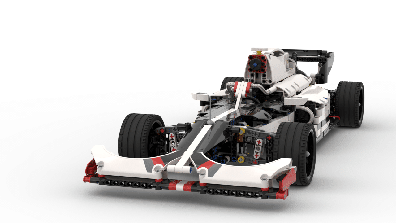 2019 F1 Formula 1 Racing Car 42096 Lego Technic B Model Lego Instructions Mocsmarket