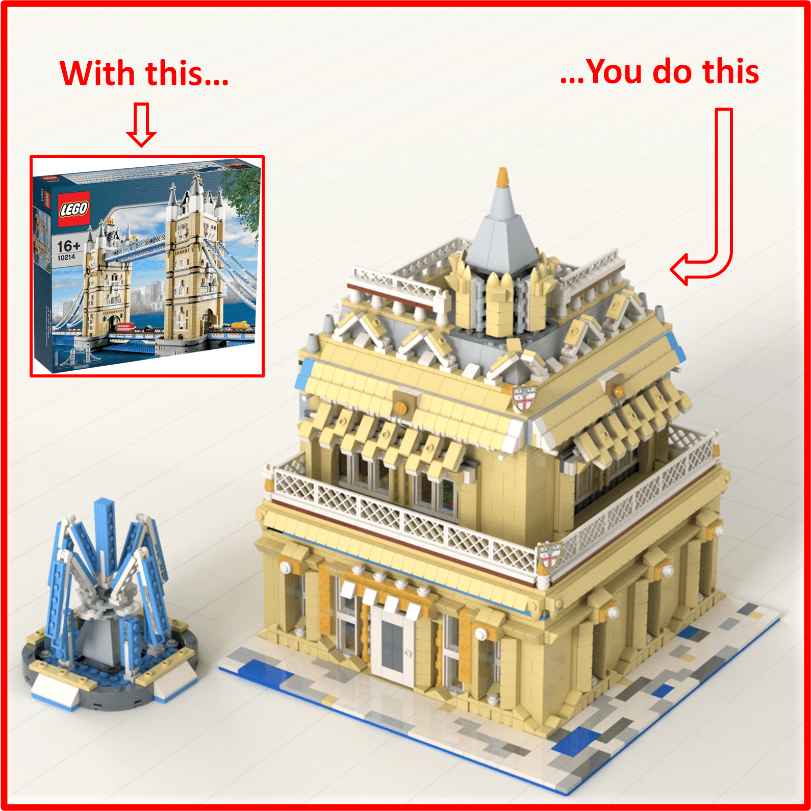 lego tower bridge alternative