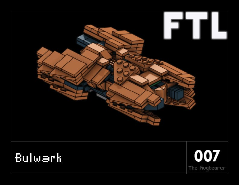 LEGO FTL Rock Cover
