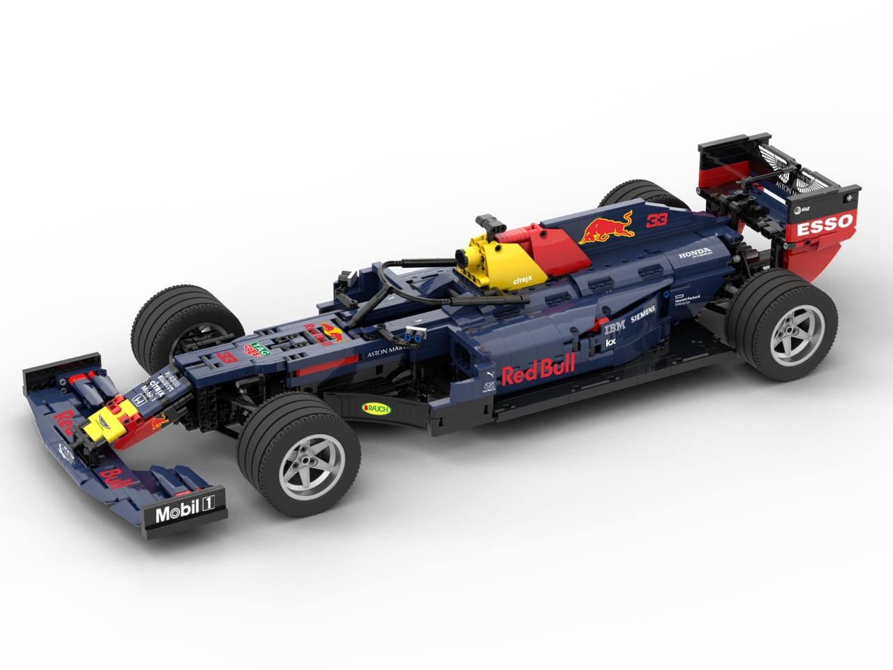 Lego Instructions Red Bull Racing F1 Rb15 1 8 Scale Lego Instructions Mocsmarket
