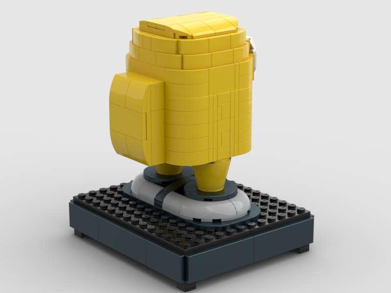 Yellow Crewmate Back
