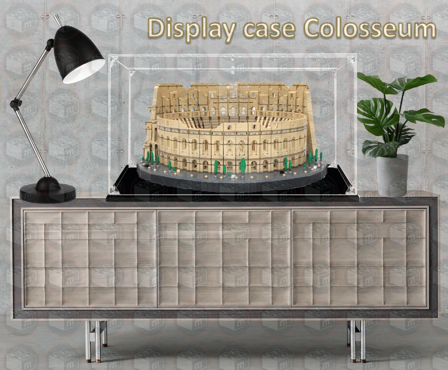 display case lego colosseum