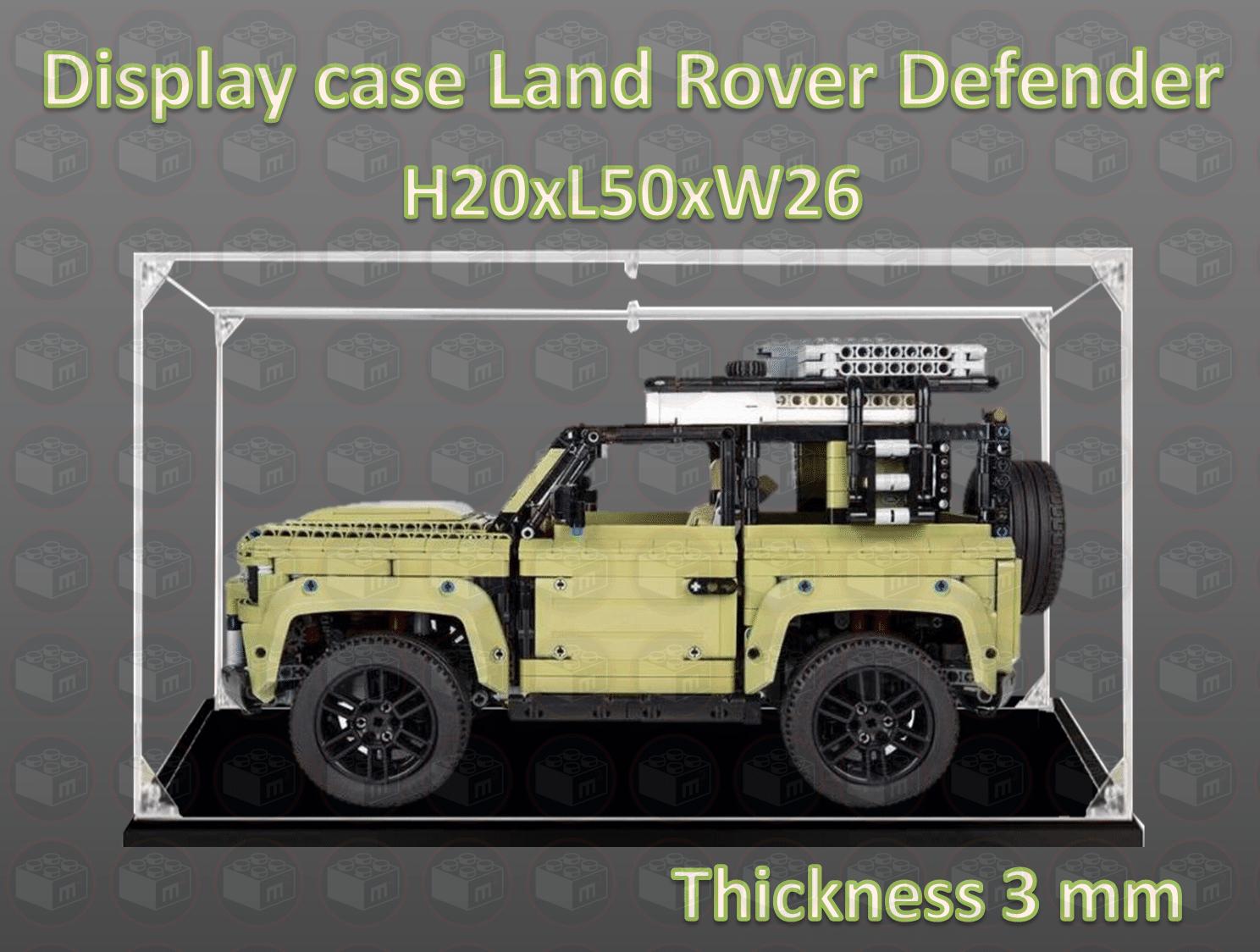 display case lego land rover 42110