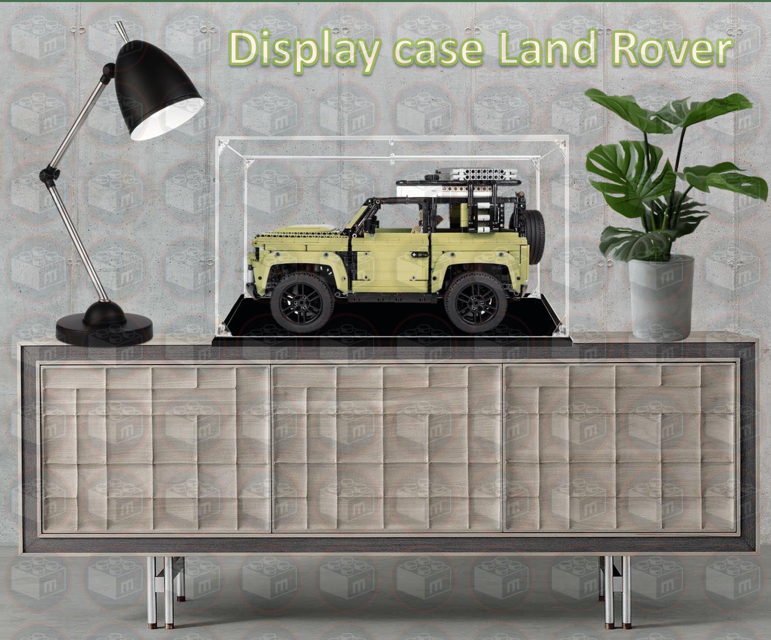 display case lego land rover