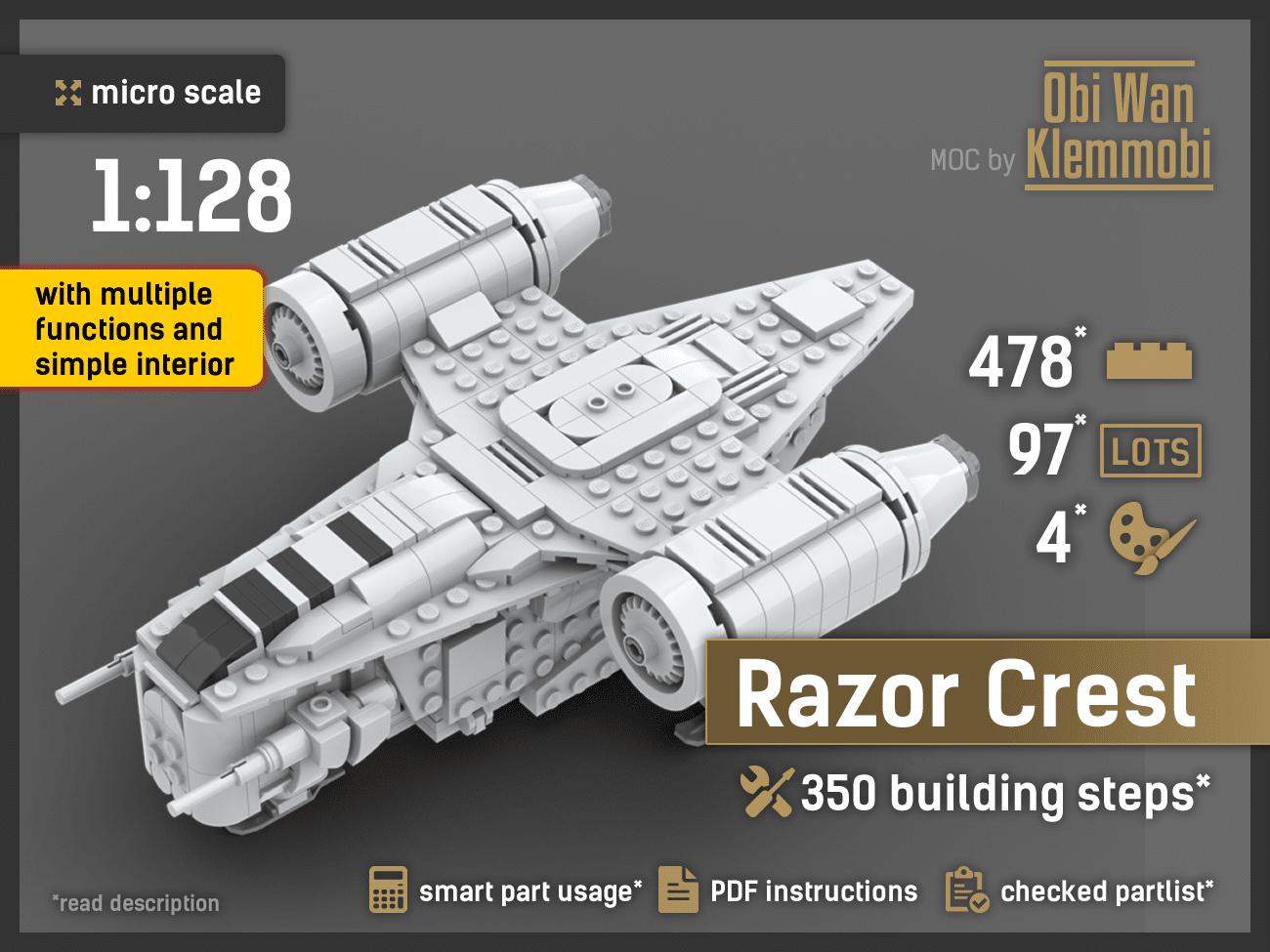 Micro Scale Razor Crest