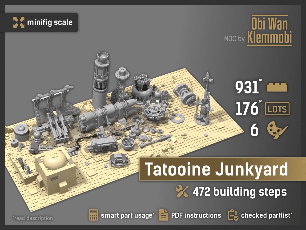 Tatooine Junkyard