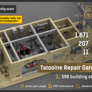 Tatooine Repair Garage