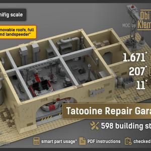 Tatooine Repair Garage